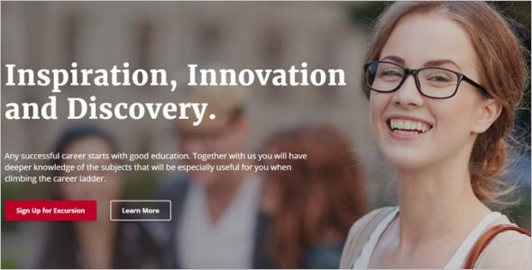 University Education Website Template