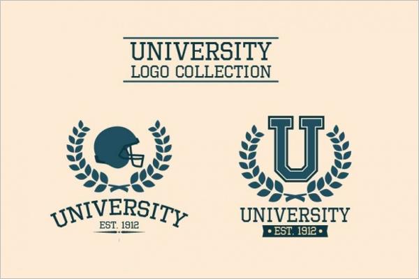 University Vintage Business Label