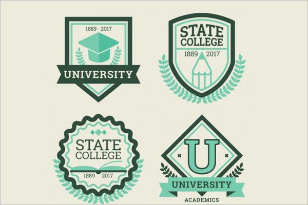 University Vintage Label Pack