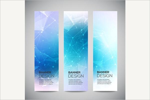 Vertical Business Banner Design