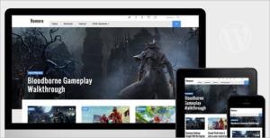 Video Game WordPress Theme