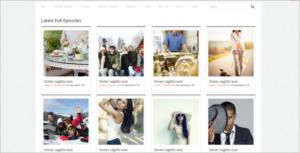 Videographer WordPress Theme