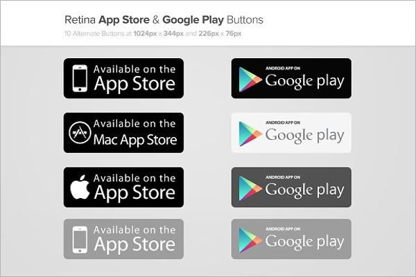 Web App Button Template