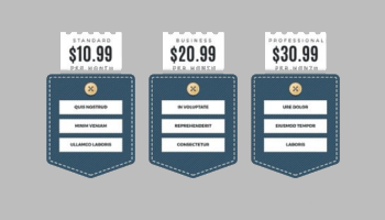 Website Pricing Table Templates