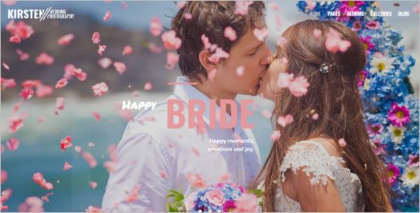 Wedding Photography Portfolio WordPress Theme