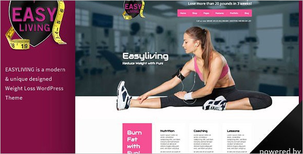 Weight Loss HTML 5 Template