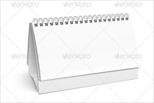 White Calendar Template