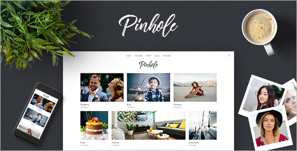 WordPress Gallery Theme for Photographers