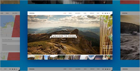 WordPress Photographer Responsive Themes