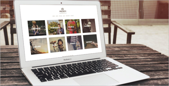 WordPress Photography Theme For Photographers