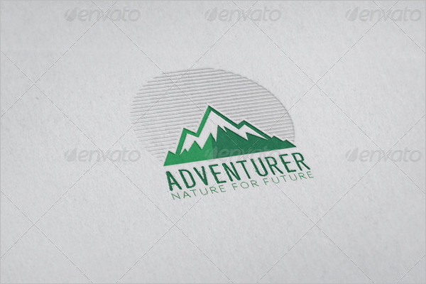 simple Adventure Badge Design
