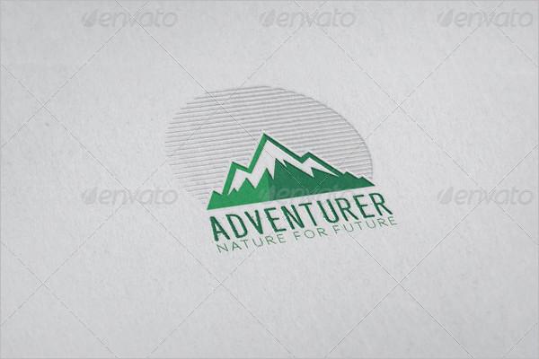 simple Adventure Badge Design