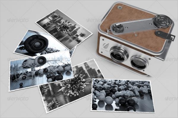 3D CameraMockup Template