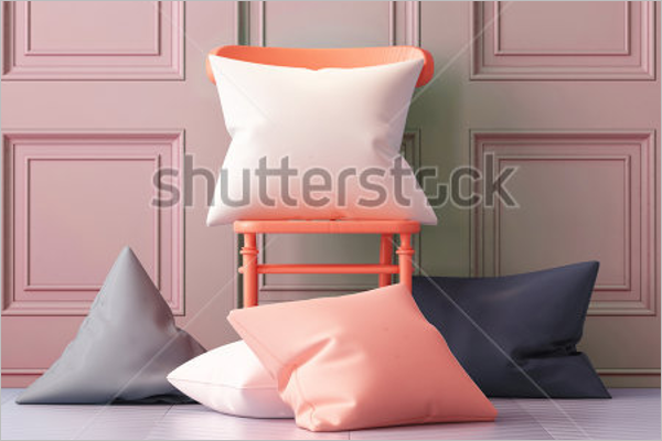 3D Pillow Mockup
