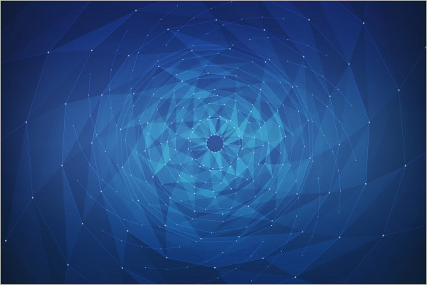 Abstract 3D Vector Background