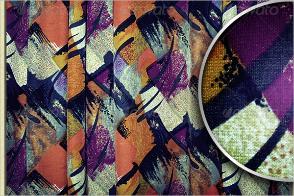 Abstract Fabric Pattern Design