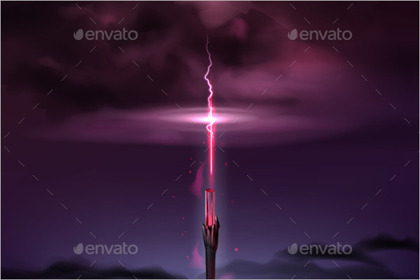 Abstract Magic Vector Background