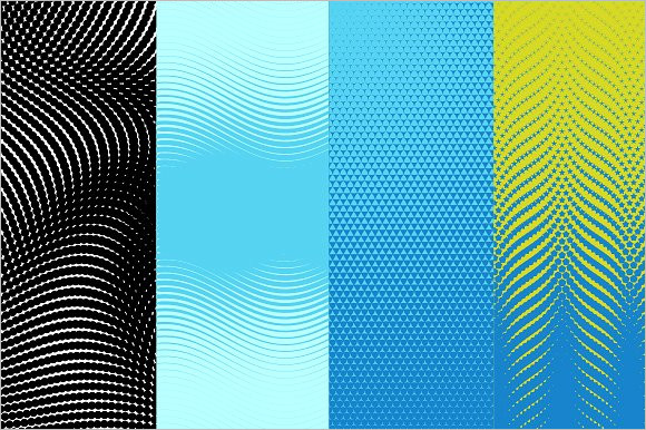 Abstract Vector Pattern Template