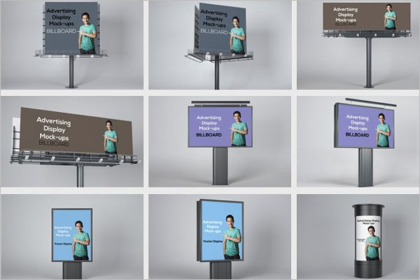 Advertising Display Mockup Ideas