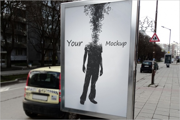 Advertising Mockup Download