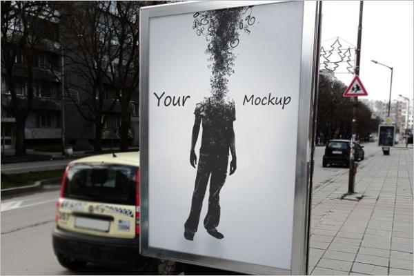 Advertising Mockup Download