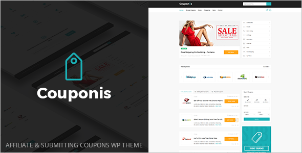 Affiliate Coupons WordPress Theme