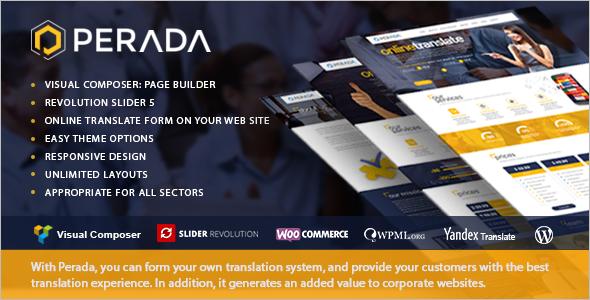 Agency & Business WordPress Theme