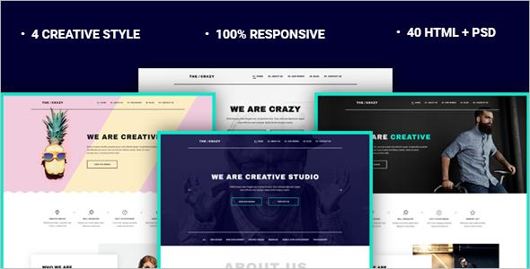 Agency HTML5 Website Template