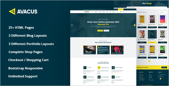Agency Services HTML5 Template