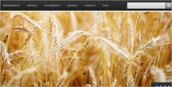Agriculture Image ZenCart Theme