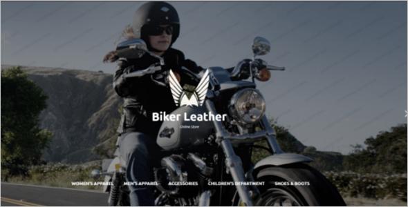 Apparel Store Website Template