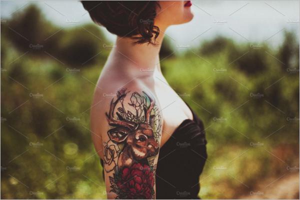 AttractivePortrait Tattoo Ideas