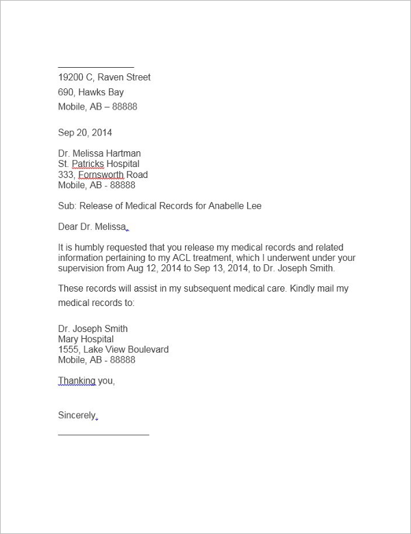 Authorization Letter to Process Documents