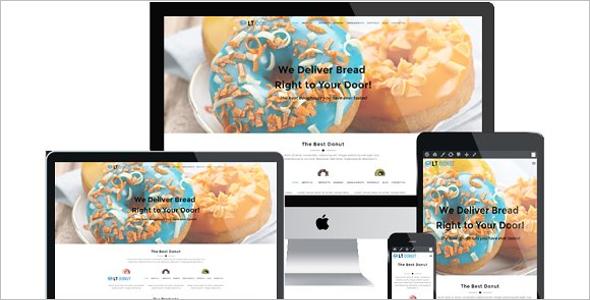 Bakery OnePage WordPress Theme