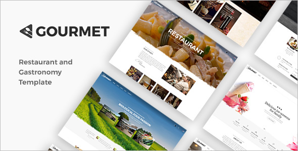 Barbeque Restaurant Website Theme