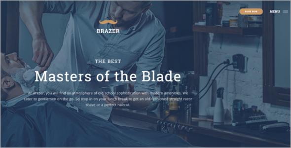 Barber SalonWebsite Template