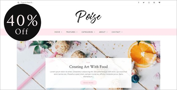 Beautiful WordPress Blog Theme