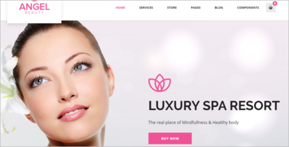 Beauty Spa Website Template
