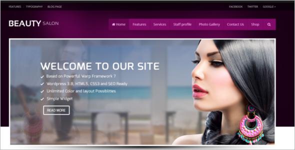 Beauty SpaWebsite Template