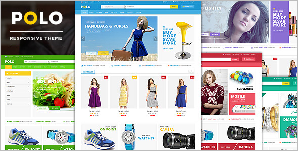 Beauty Store Responsive Website Theme