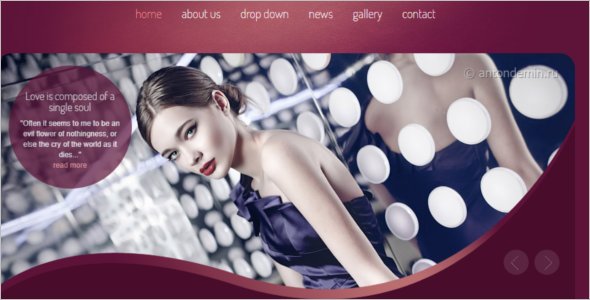 Best Beauty Center Website Template