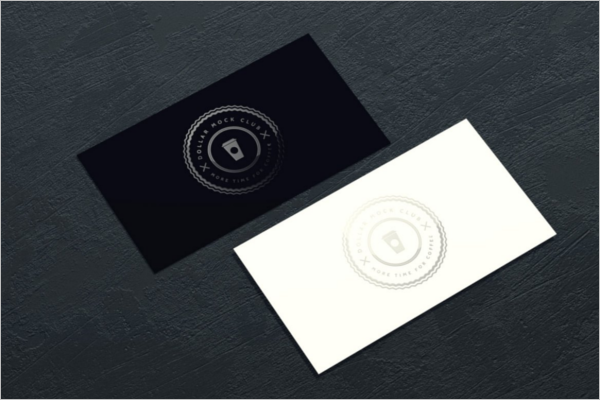 Best Business Card Mockup Template