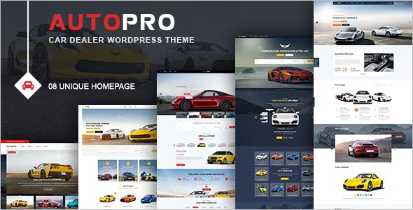 Best Car Dealer WordPress Theme