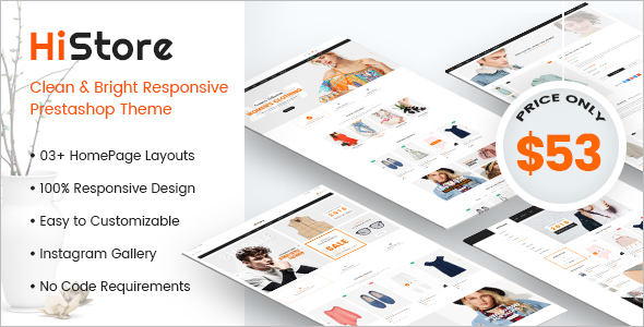 Best Fashion Ecommerce Template