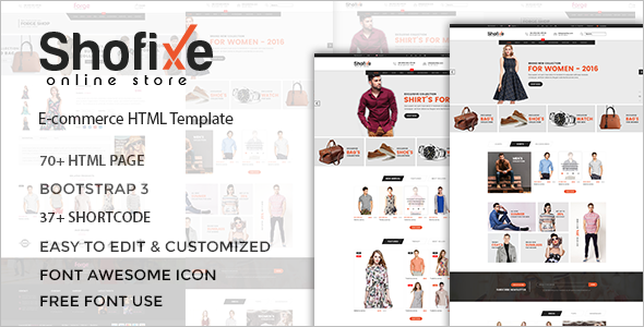 Best Fashion Responsive Bootstrap Template