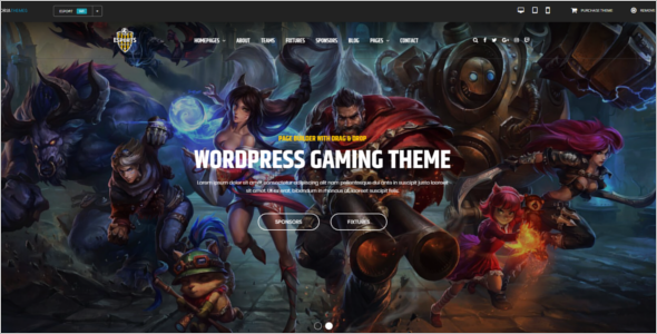 Best Gaming WordPress Theme