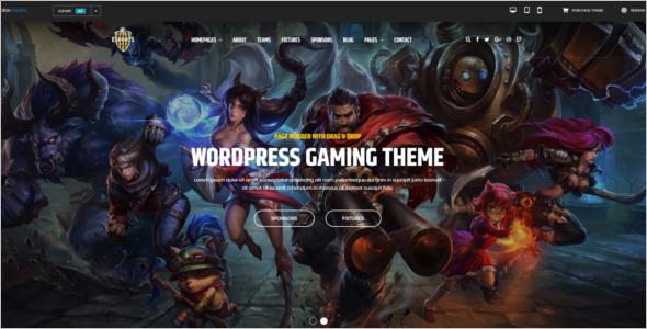 Best Gaming WordPress Theme