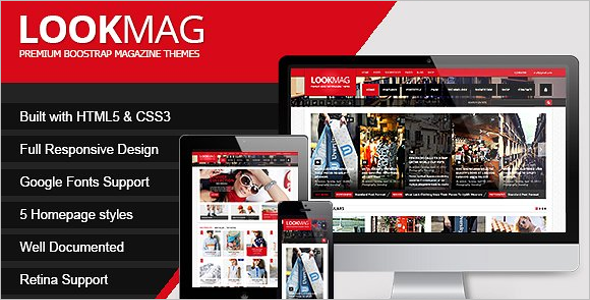 Best HTML5 Magazine Template