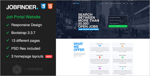 Best Job Portal HTML5 Template