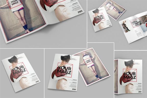 Best Magazine Mockup Design